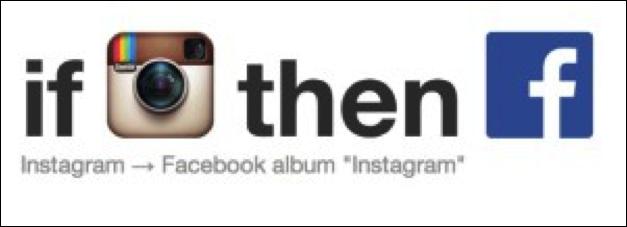If Instagram then Facebook