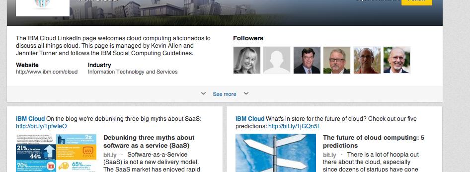 Strona marki IBM Cloud