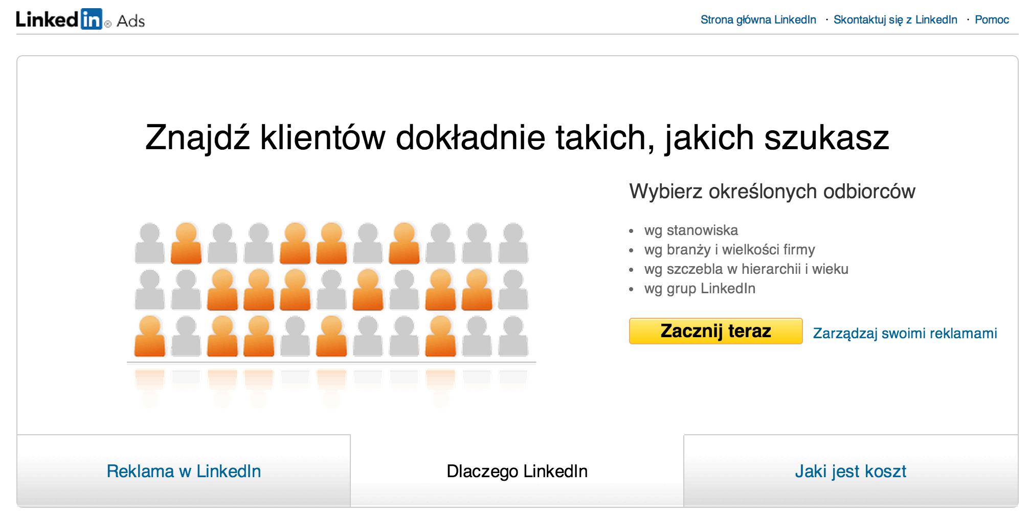 LinkedIn-reklamy-ukierunkowane