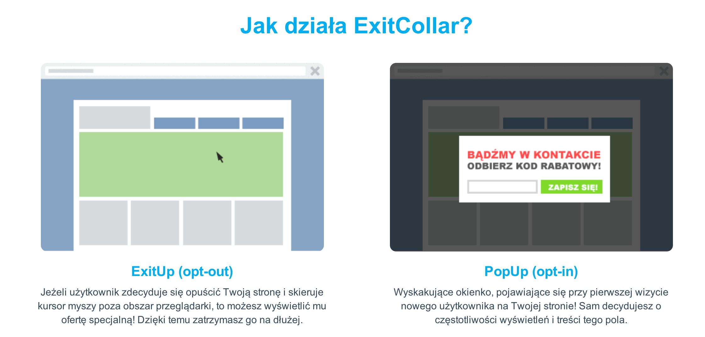 Jak działa Exit Collar