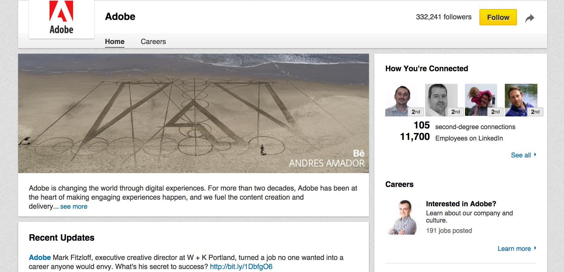 LinkedIn - Company Profile