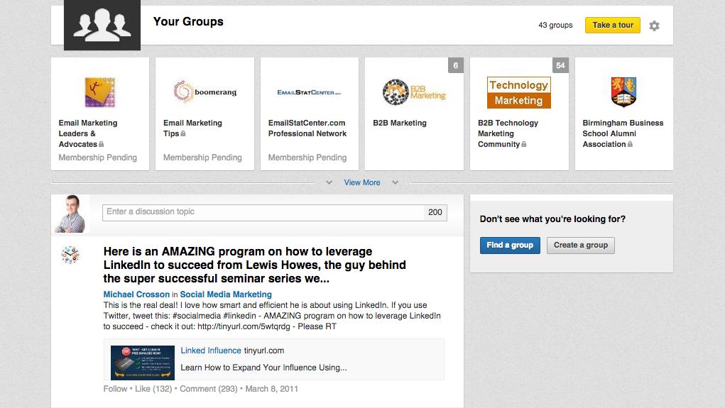 Grupy Linkedin