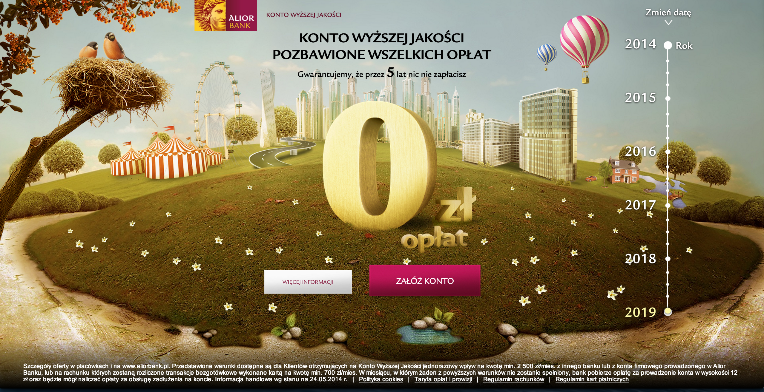 Landing Page Alior Bank