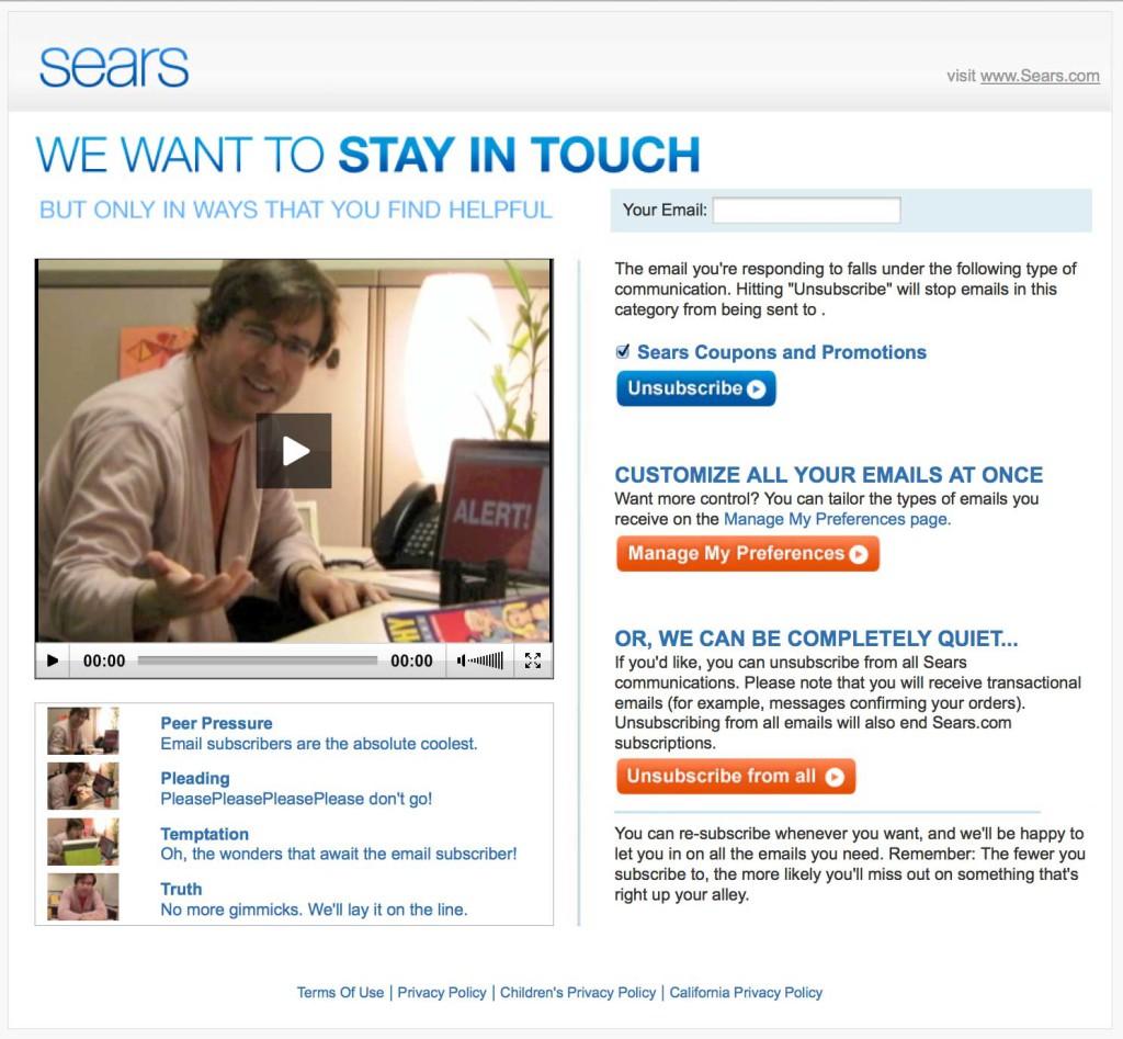 Sears Videos