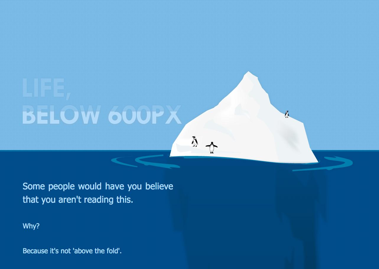 Life below 600px