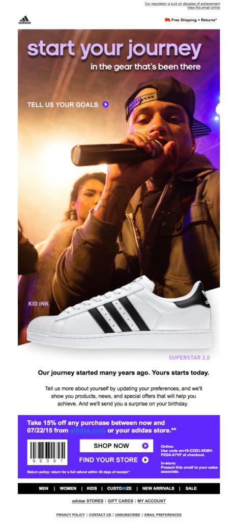 Adidas-email-ankieta