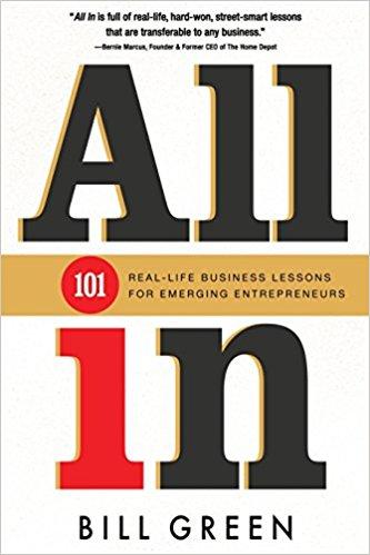 Книга Билла Грина под названием All In про то, что следует делать, чтобы быть успешным в жизни