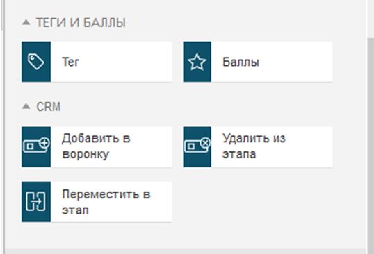 Удаление контакта из CRM-воронки на платформе GetResponse