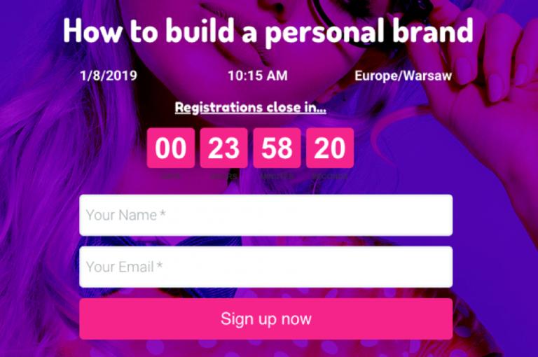 countdown-timer-getresponse-webinar-landing-page