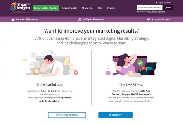 smart-insights-домашняя страница