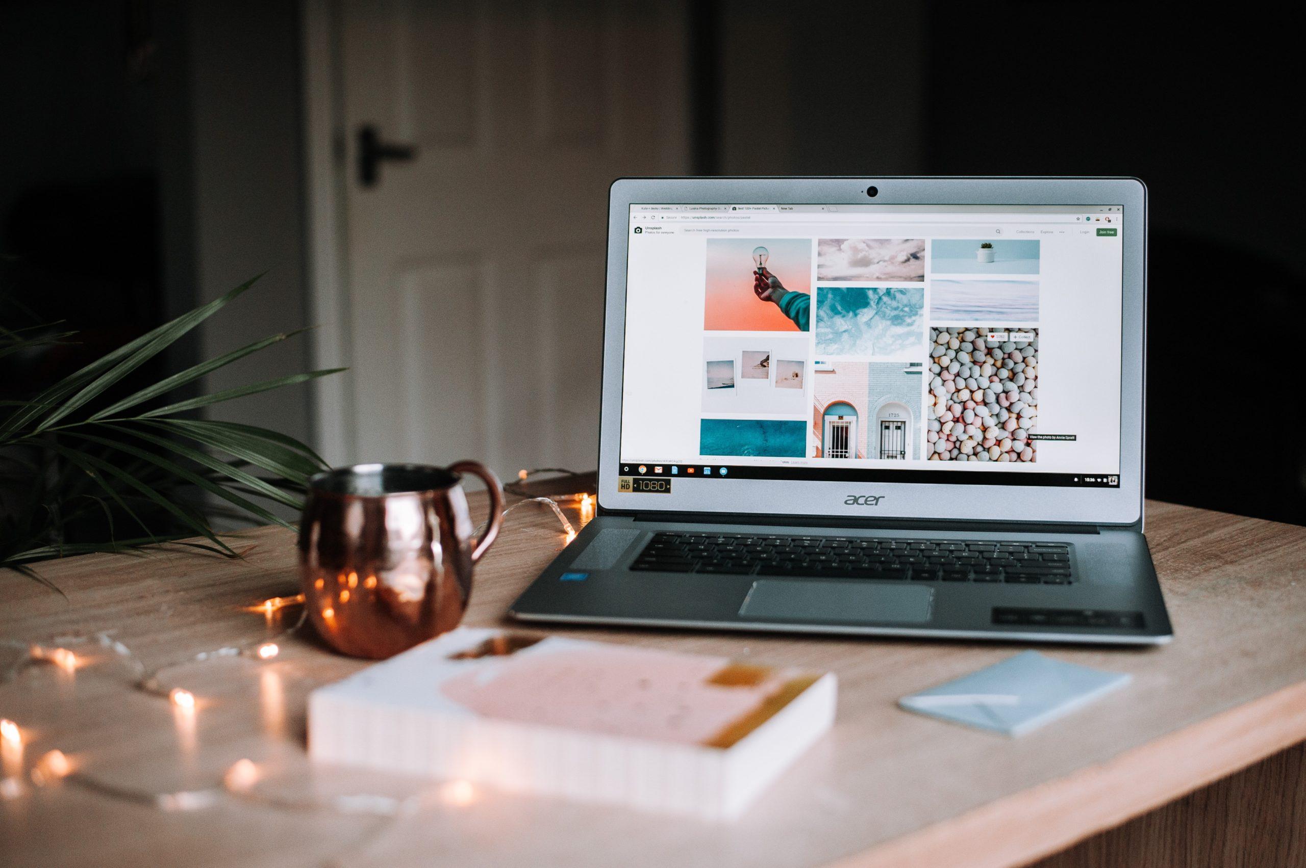 Strona firmowa firmy Adobe