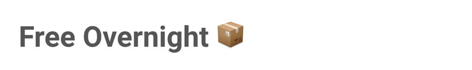 Package emoji indicating free shipping in an ecommerce email subject line