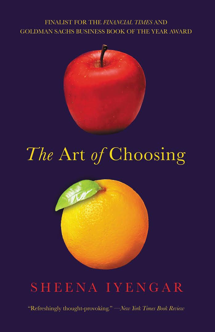 Persuasion book for Solopreneur - The Art of Choosing Book by Sheena Iyengar