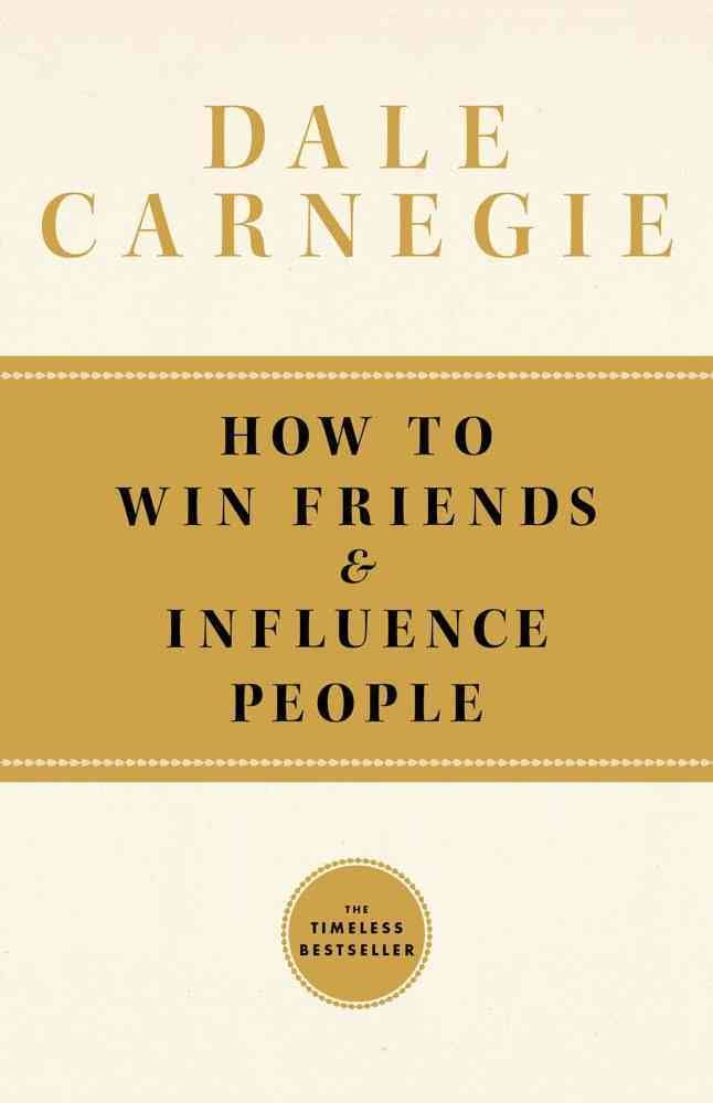 Persuasion book for Solopreneur - How to Win Friends and Influence People Book by Dale Carnegie