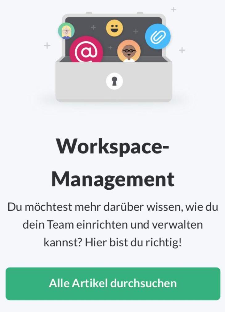 Slack German email.