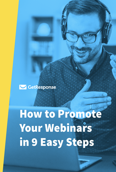 promote webinars.