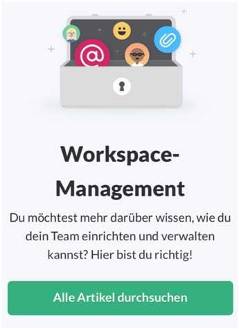 фрагмент интерфейса Slack