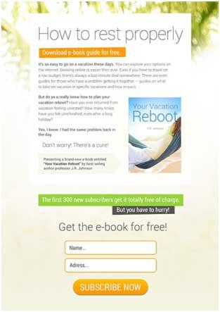 пример страницы для электронной книги-инструкции
