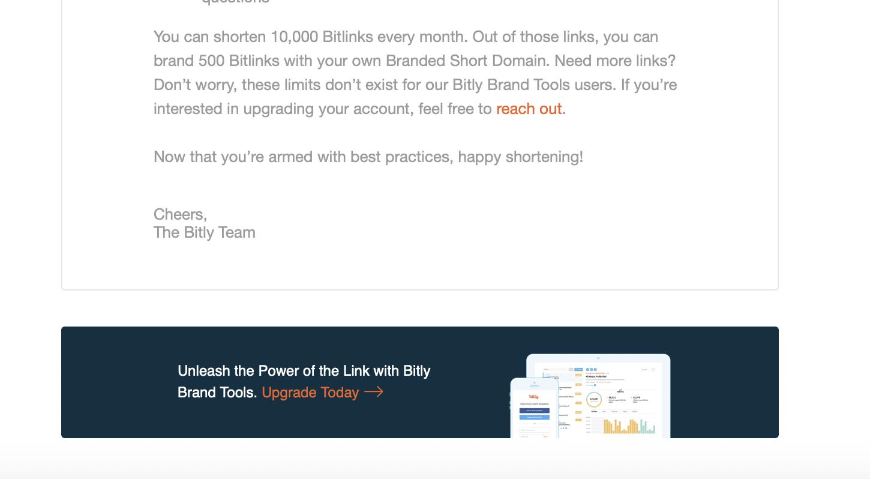 Bit.ly registration confirmation email part 2.
