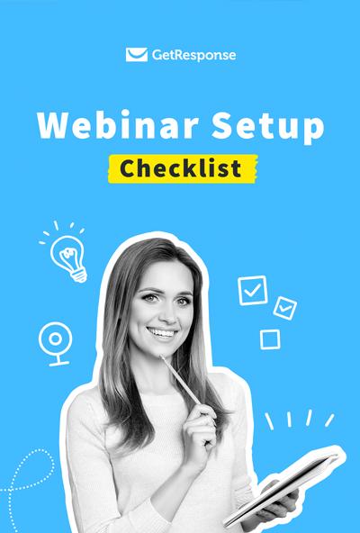 Webinar setup checklist