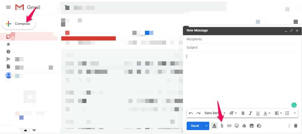 инструкции как прикрепить видео к письму Gmail