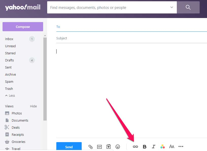 инструкции как отправить видео в письмеYahooMail – первые шаги
