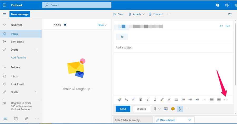 инструкции как вставить ссылку на видео в письмо Outlook – последующие шаги