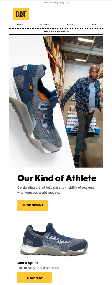 CAT Footwear celebrating their customers and introducing a new product designed specifically for them.
