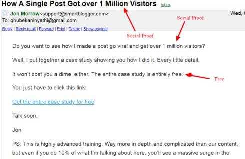 простая емейл рассылка от Smart Blogger