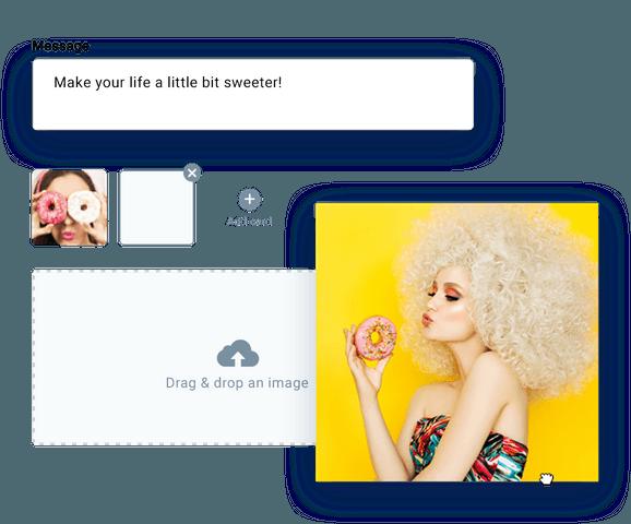 Social Ads Creator app in GetResponse.