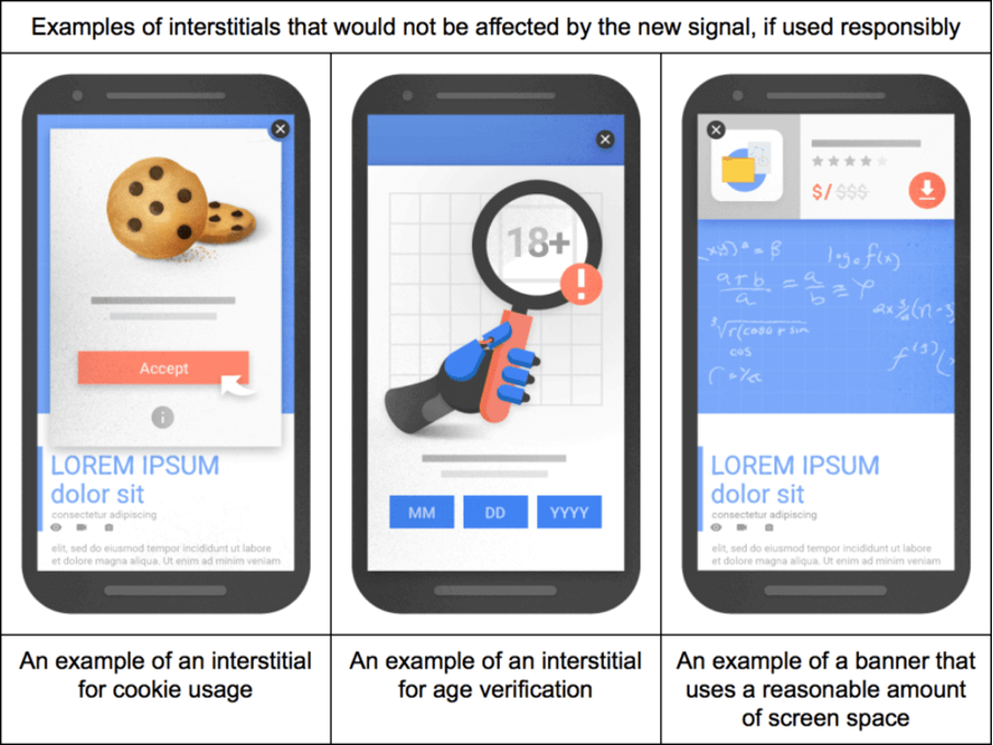 Google Mobile Popup Guidelines.