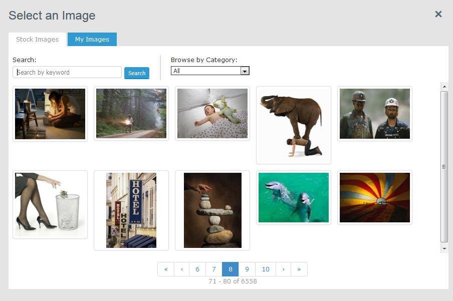 галерея бесплатных стоковых картинок Aweber