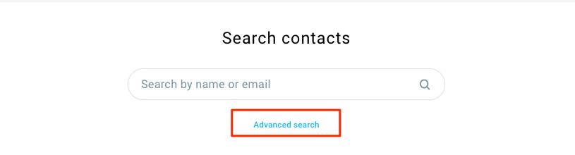 Ссылка расширенного поиска