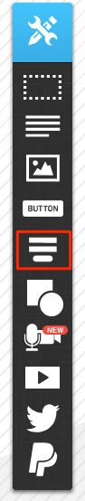 where to find the icon in the menu is shown