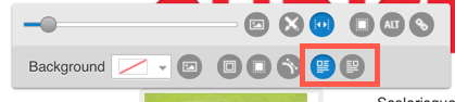 image alignment icons.
