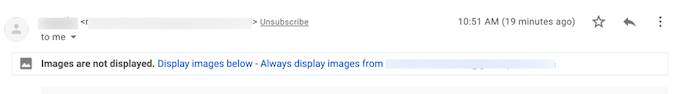 images not displayed message in gmail.