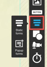landing page webform icon.