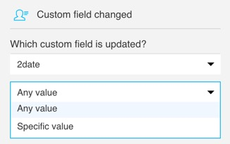 Custom field changed