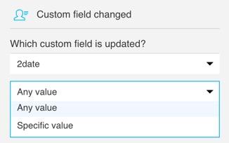 Custom field changed