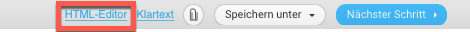 Link zum HTML Editor.