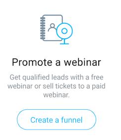 create webinar paid.