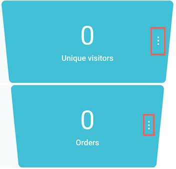 sales page menu.