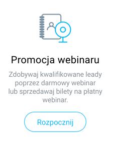 promocja webinaru.