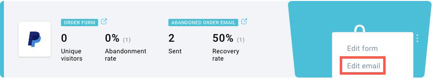 Abandon email