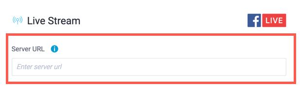Server URL
