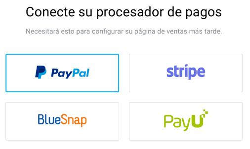 Procesador de pagos.