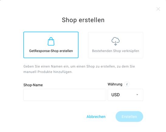 Shops und Produkre