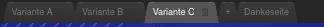 Landing Page Varianten.