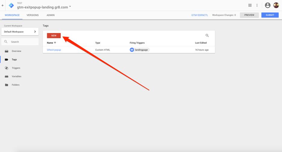 Google Tag Manager Tag erstellen.