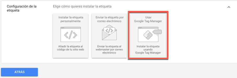 Usar Google Tag Manager.